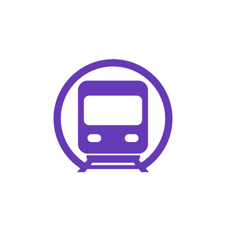 Subway icon, underground public transport