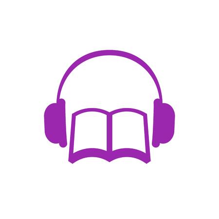 audiobook vector icon