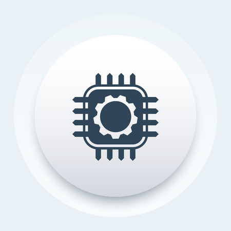 technology, hardware vector icon