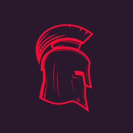 spartan helmet outline