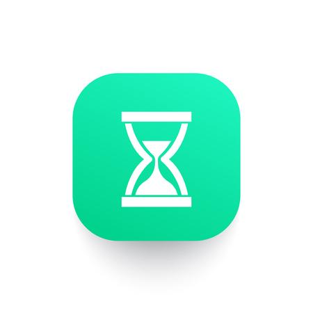 sand clock vector icon Illustration