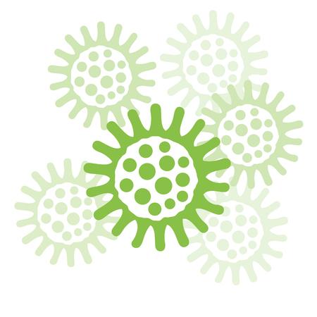 bacteria vector illustration Vector Illustration