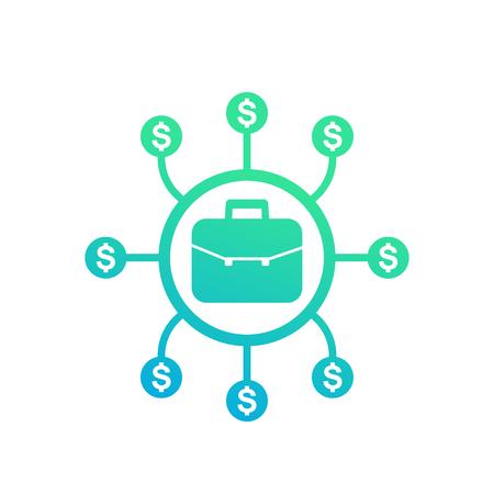 portfolio diversification icon
