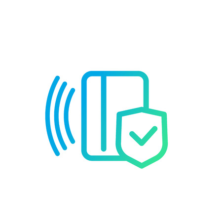 electronic pass icon, card key