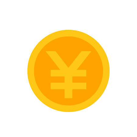 Chinese yuan coin icon
