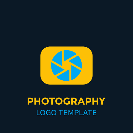 Photography icon element, vector icon.