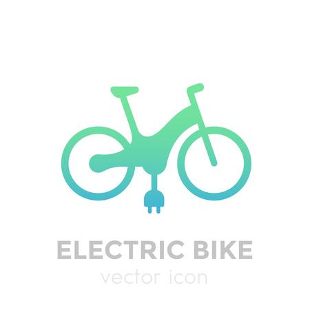 Electric bike icon.