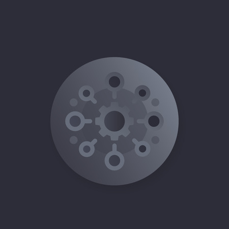 production vector icon