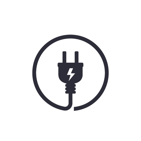 Electric plug icon 版權商用圖片 - 99184973