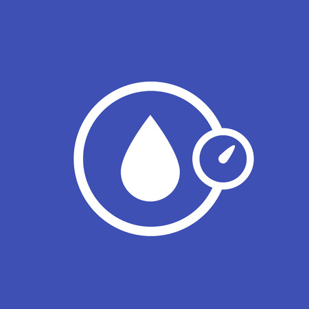 humidity, water control icon