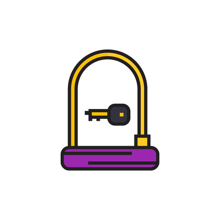 Bike U-Lock icon