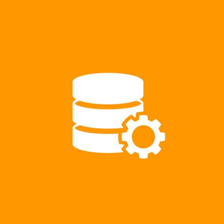 A data processing icon Illustration