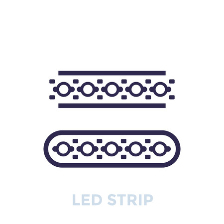 LED stripes icon