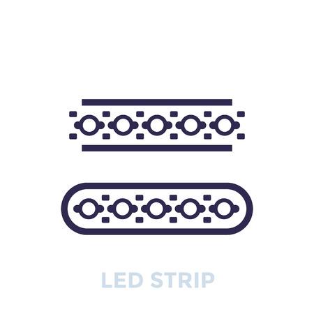 LED stripes icon