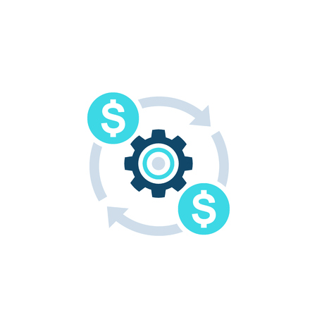 costs optimization, efficiency icon
