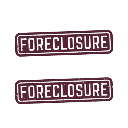 foreclosure signs, stamps