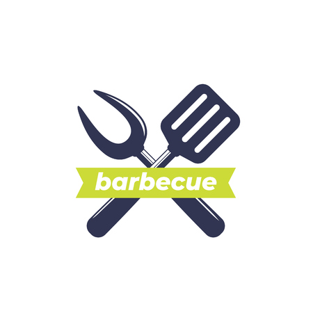 barbecue, bbq vector logo 写真素材 - 106311619