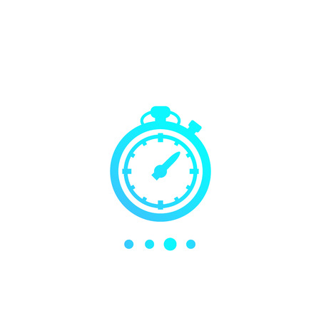 chronometer, timer, countdown icon Illustration