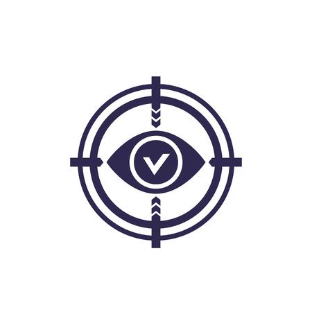retina scanning, vector