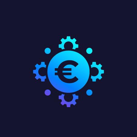 cost optimization, financial, money management, efficiency vector icon