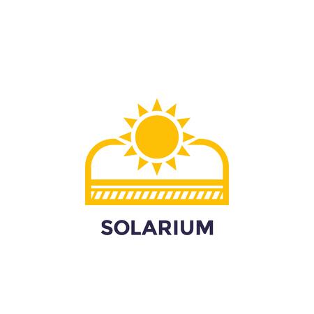 solarium icon for web and print