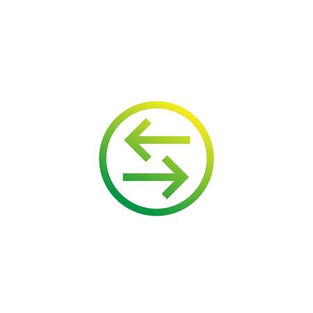 exchange, convert vector icon Illusztráció