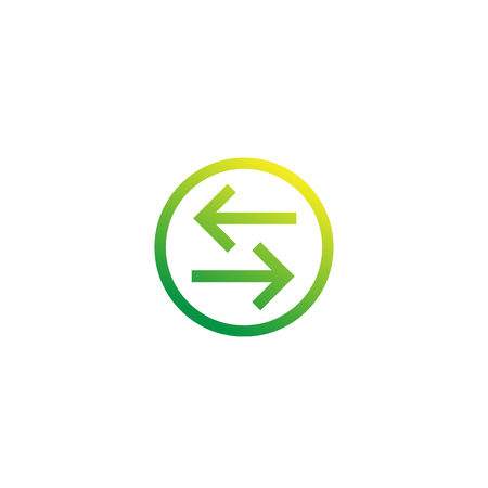 exchange, convert vector icon Illustration