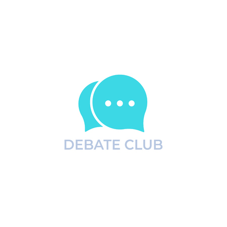 debate club logo