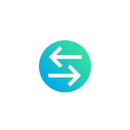 exchange, convert icon
