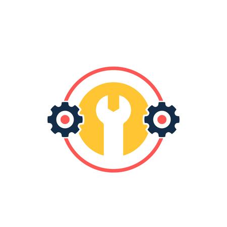 optimization, settings icon with cogwheel