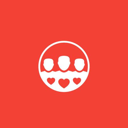 Happy customers icon
