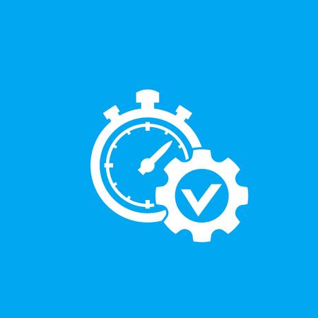 icône de vecteur de gestion du temps Vecteurs