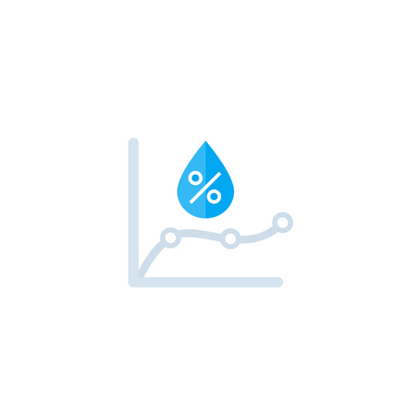 humidity monitoring icon