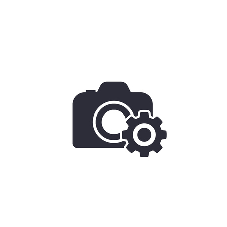camera service vector icon Stock Vector - 121965893