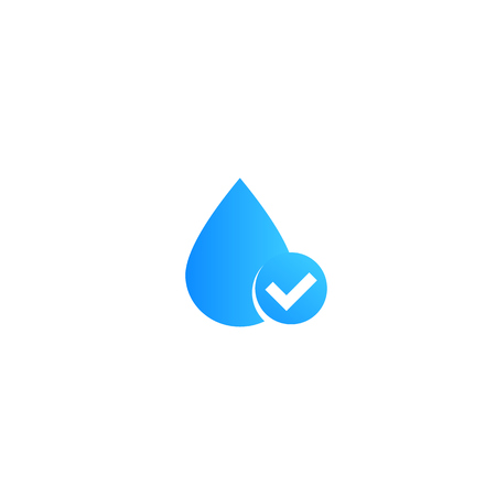water, vector icon Ilustrace