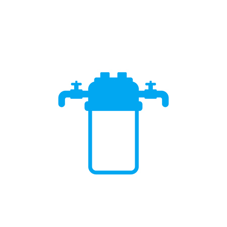 water filter, filtration system icon