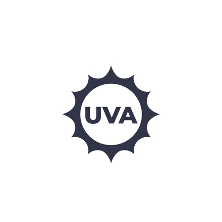 UVA icon, vector 矢量图像