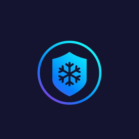 Frost resistance icon Illusztráció