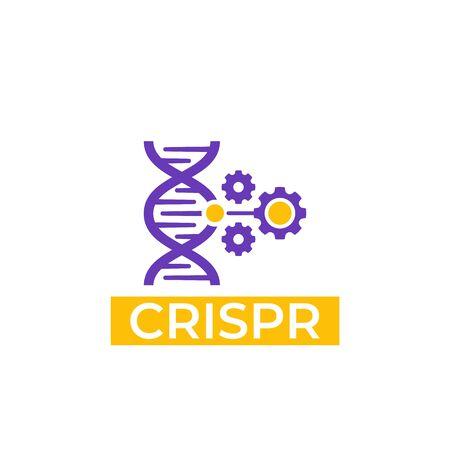 CRISPR vector icon Illustration