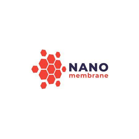 nano materials vector