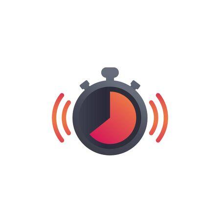 chronometer, countdown icon