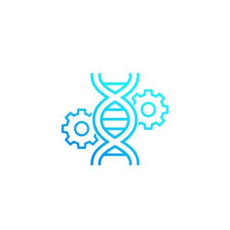 gene editing, genetics icon