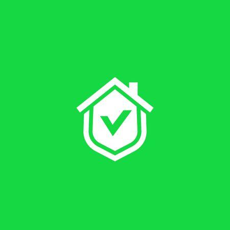 home security logo icon