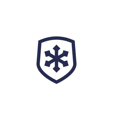 Frost resistant icon Illusztráció