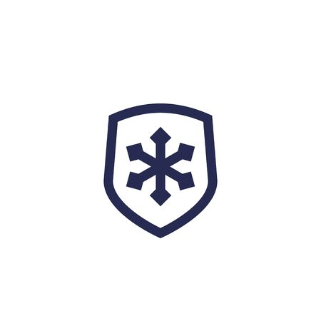 Frost resistant icon Illustration