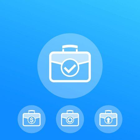 portfolio vector icons