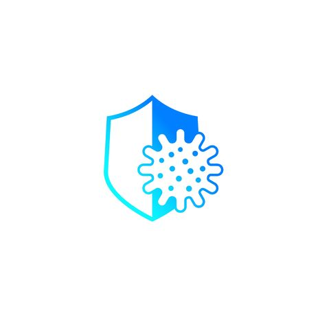 antibacterial protection icon