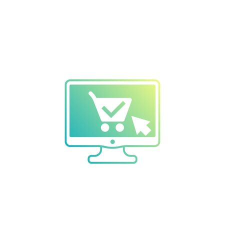 online order, purchase, e-commerce retail icon