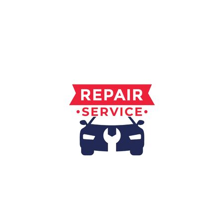 car repair service logo, vector Illustration