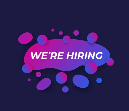 We are hiring vector design